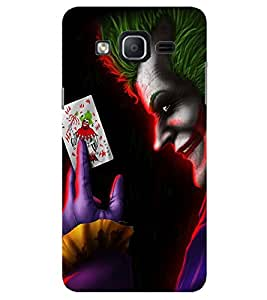 Evaluze joker why so Printed Back Cover for SAMSUNG GALAXY ON7 PRO 2016
