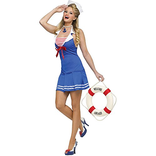 Anchors Away Sailor Girl Adult Costume