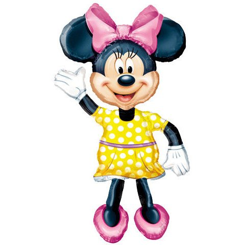 "Review Minnie Mouse Airwalker 54"" Jumbo Foil Balloon"