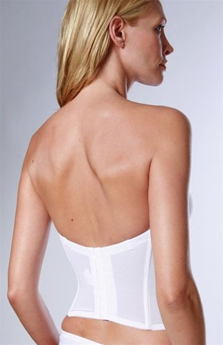 Spanx For Low Back High Waist Strapless Dress The Knot