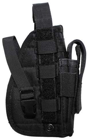 MFH TACTICAL MOLLE HOLSTER PISTOL HOLSTER AIRSOFT BLACK