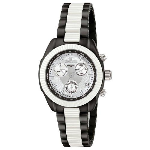 Invicta Women's Ceramics Collection Black and White Ceramic Chronograph Watch #5298