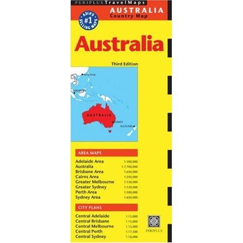 Periplus Cairns: Australia Regional (Periplus Travel Maps) (Australia Regional Maps) Periplus Editors