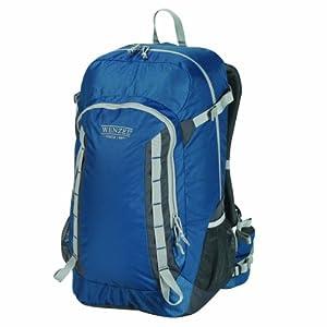 Wenzel Getaway Panel Load Backpack, True Blue, 40-Liter