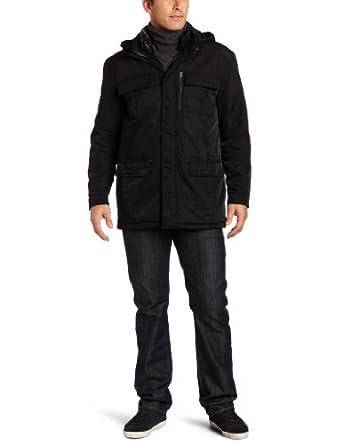 (1.9折)霍克公司男式沙耶纳米斜纹大衣 Hawke & Co Shaye Nano Twill Parka $65.9