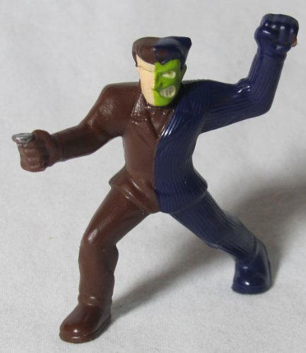 McDonalds Happy Meal #2 Batman the Brave and the Bold 2011 Two-Face Figure - 1