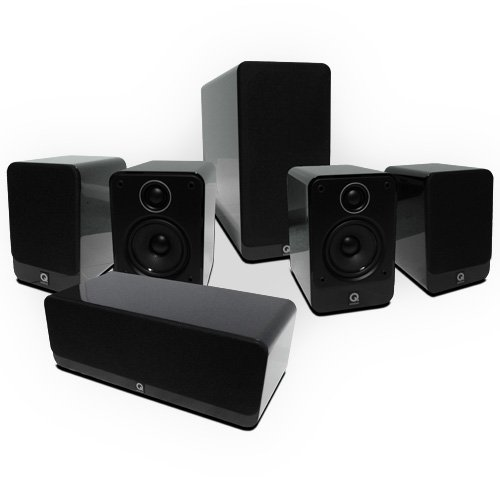Q Acoustics 2000 Cinema 5.1 award-winning speakers (Gloss Black). 2 Year Guarantee. Black Friday & Cyber Monday 2014