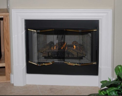 Manchester Precast Fireplace Mantel and Surround (Precast Fireplace Mantel compare prices)