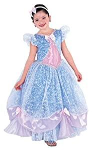 Bright and Beautiful Princess Costume Gown Great for Spring Flower Girl Dress Too!
