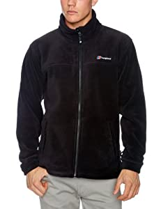 Berghaus Mens Polarplus Interactive Fleece Black Jacket Size XL