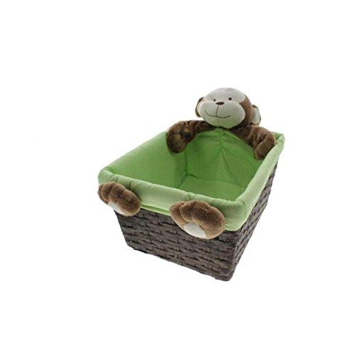 Koala Baby Monkey Plush Character Basket - 1
