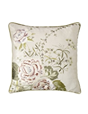 Jasmine Embroidered Cushion