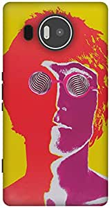 The Racoon Lean lennon hard plastic printed back case / cover for Microsoft Lumia 950 XL