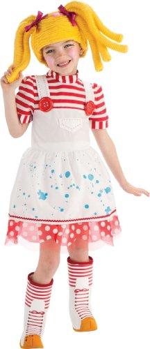 Lalaloopsy Deluxe Spot Splatter Splash Costume - Toddler