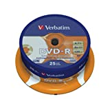 """Verbatim DVD-R Gold Archival - Printablevon """"Verbatim"""""""