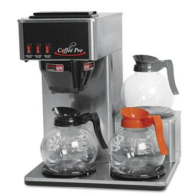 Coffee Pro Three-Burner Low Profile Institutional