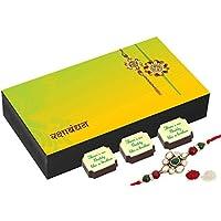 Rakhi Gifts For Brothers - 6 Chocolate Gift Box - Rakshabandhan Gifts With Rakhi