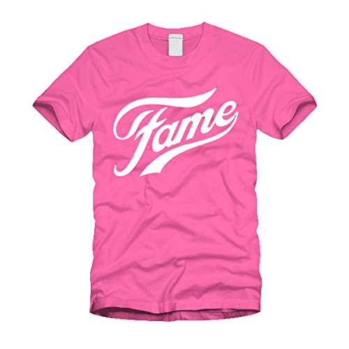 Ladies Pink Fame Musical Logo T-shirt - S to XXL