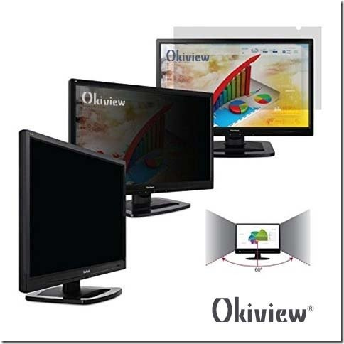 Okiview Privacy Filter for Widescreen Desktop LCD Monitor 22.0