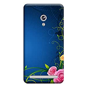 iShell Premium Printed Mobile Back Case Cover With Full protection For Asus Zenfone 6 (Designer Case)