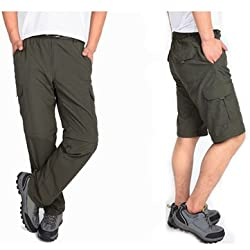 Generic Outdoor Mens Bike Bicycle Cycling Riding Pants Riding Trousers Removable
