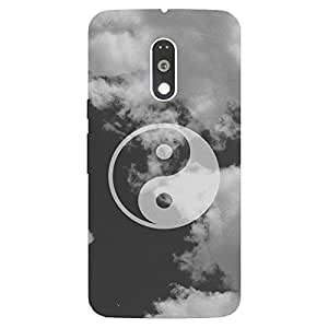 Back cover for Moto G Plus (4th Gen) Kung Fu