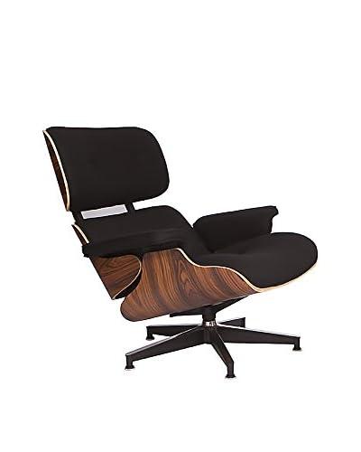LeisureMod Modern Plywood Zane Lounge Chair