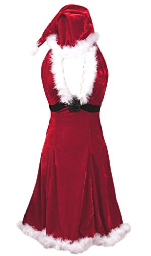 Alivila.Y Fashion Sexy Women Halter Santa Claus Christmas Costume Dress