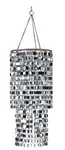 Wall Pops WPC96860 Ready-to-Hang Bling Chandelier, Icicles by Brewster
