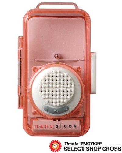[ナノブロック]nanoblock デコレーション防沫スピーカー おまけフィギア付 ホワイト NBA-0881WH