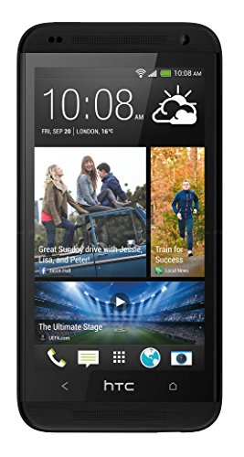 HTC Desire 610 8GB Unlocked GSM 4G LTE Quad-Core Android 4.4 Smartphone - Black