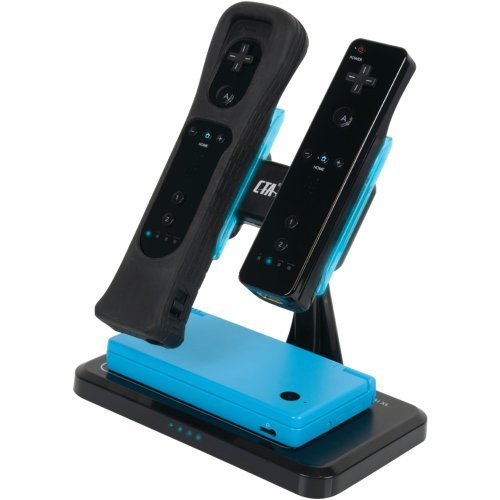 CTA WI-BNCWD NINTENDO WII(R)/DSI(R)/DSI XL(R) DUAL VERTICAL INDUCTION CHARGER (Dsi Xl Induction Charger compare prices)