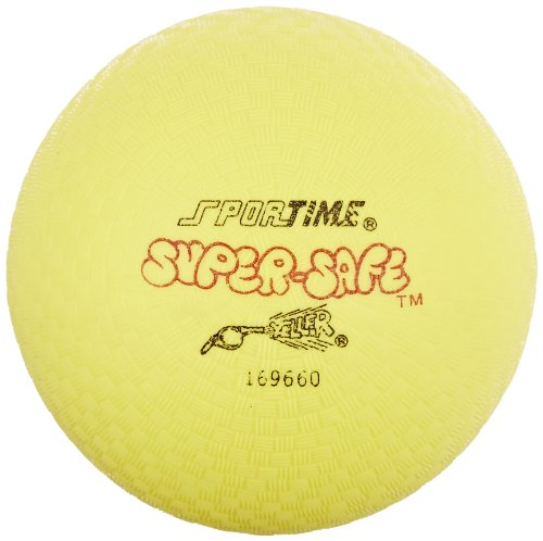 Sportime Super-Safe Foamed Vinyl Playground Ball, 7 inches, Yellow
