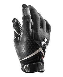 Under Armour Men\'s Nitro Football Gloves, Small, Black (001)