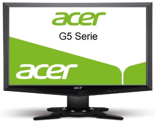 Acer ET.UG5HE.019 G245 23.6 inch Full HD 1080p LCD with CCFL Backlight Monitor - Black (HDMI, DVI, VGA, 1920x1080, 80000:1, 2ms, 300cd/m2)
