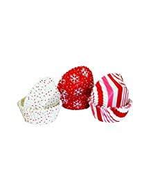 Martha Stewart Crafts Candy Cane Mini Cupcake Wrappers