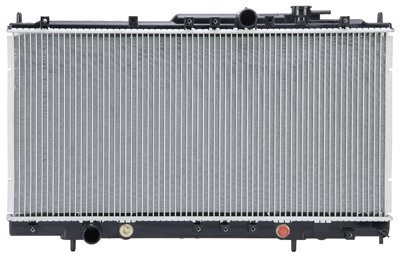 Prime Choice Auto Parts RK946 Aluminum Radiator (Mitsubishi Eclipse Radiator Parts compare prices)