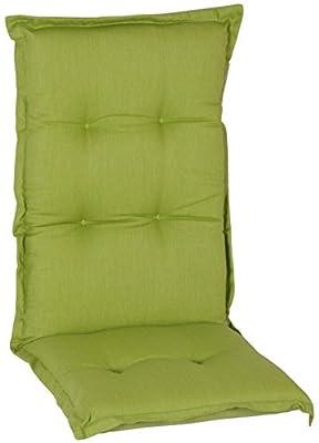 beo AU31 Nice HL Luxus-Saumauflage für hochwertiger Bezug mit hoher Lichtechtheit, angenehmer Sitzkomfort Hochlehner, circa 120 x 52 cm, circa 7 cm dick von beo - Gartenmöbel von Du und Dein Garten