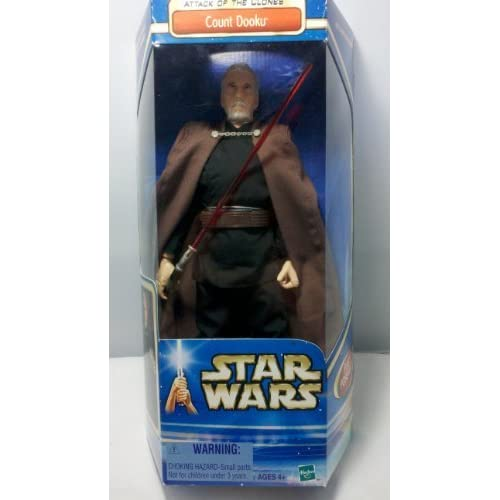 Star Wars AOTC 12″ Count Dooku Figure by Hasbro (English Manual) jetzt bestellen