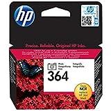 HP 364 Cartouche d'encre d'origine 1 x photo noire 130 pages boîtier rigide