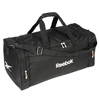 New Black Reebok Classic Lightweight Gym Duffle Team Bag