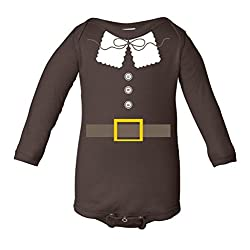 Thanksgiving Pilgrim Costume Infant Long Sleeve Bodysuit