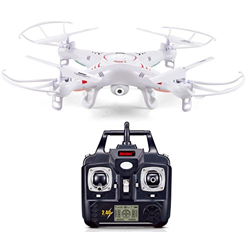 Ionic 2.4Ghz 6-Axis Remote Control Quadcoptor Drone with 2.0 MP Camera