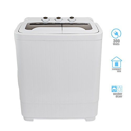compact washer and spin dry cycle with built in pump 300w apartment