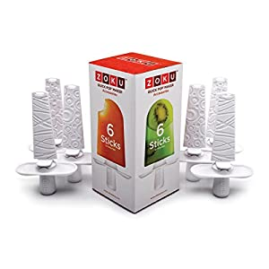 Zoku Set of 6 Sticks and Drip Guards