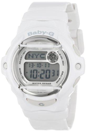 """Casio Women'S Bg169R-7A """"Baby-G"""" White Resin Sport Watch front-1078836"""