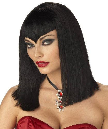 California Costumes Women's Vampire Wig,Black,One Size