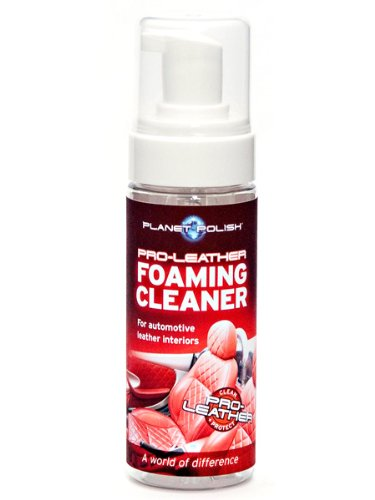 Planet Polish Pro-Leather Foaming Cleaner for Car Leather Upholstery: 150ml