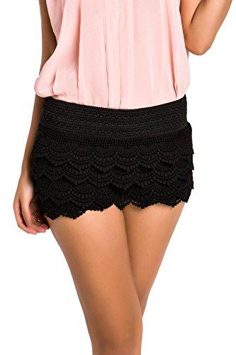 achicgirl-archaistische-hohe-taillen-spitze-shorts-schwarz-xl