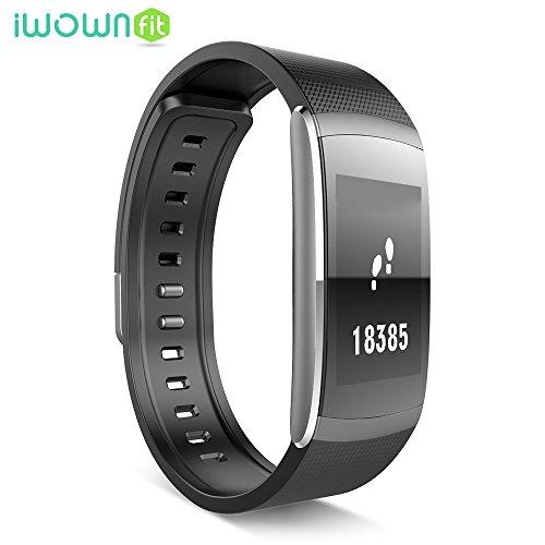 IWOWNFIT I6 PRO Smart Wristband Fitness Tracker Heart Rate Monitor IP67 Waterproof...